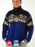 Dale of Norway St. Moritz Polarwind Sweater (Blue)