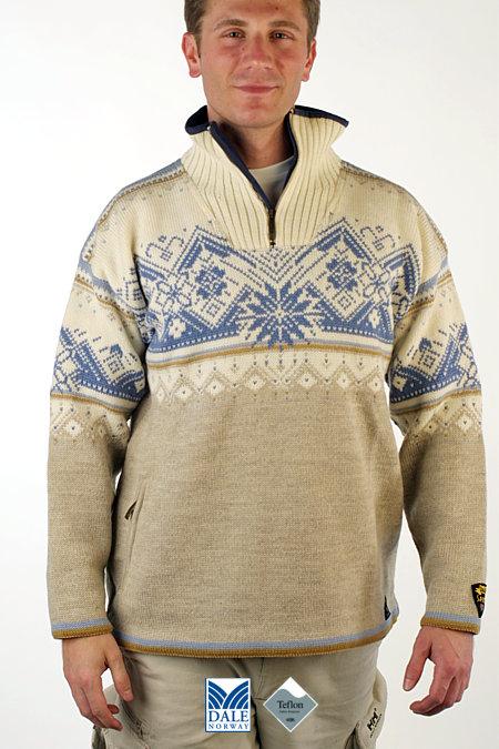 Dale of Norway St. Moritz Polarwind Sweater (Off-white)