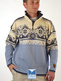 Dale of Norway St. Moritz Ski Sweater (Ice Blue)