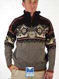 Dale of Norway St. Moritz Ski Sweater (Mixed Grey / Black)