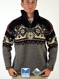 Dale of Norway St. Moritz Polarwind Sweater (Smoke)