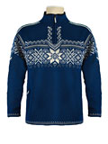 Dale of Norway Stetind Sweater Men's (Indigo / Smoke / Cream)
