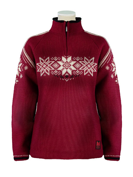Dale of Norway Stetind Sweater Women's (Vino Tinto / Black / Cre