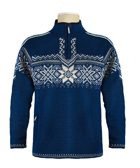 Dale of Norway Stetind WP Sweater (Indigo / Smoke / Cream)