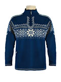 Dale of Norway Stetind Windstopper Sweater Men's (Indigo / Smoke / Cream)