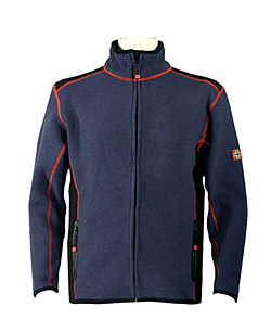 Dale of Norway Storebjorn Merino Fleece Jacket Men's (Storm Blue / Black)
