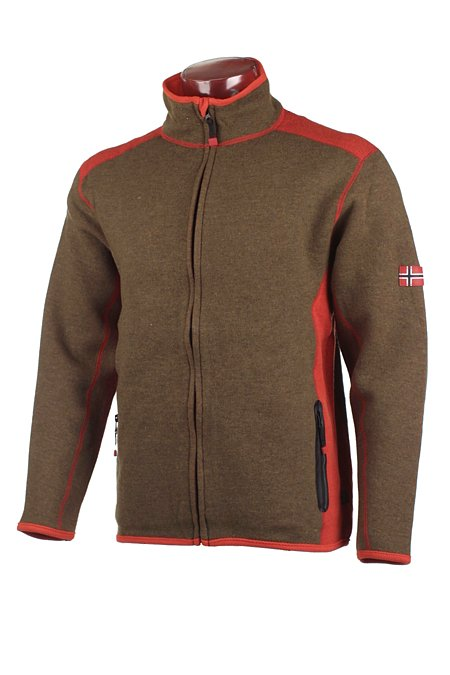 Dale of Norway Storebjorn Merino Fleece Jacket Men's (Olive)