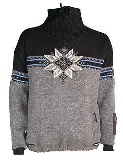 Dale of Norway Storetind Windstopper Sweater Men's (Dk. Heather Charcoal)