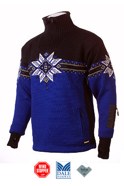 Dale of Norway Storetind Windstopper Sweater Men's (Electric Blue)