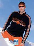 Dale of Norway Team Norge Sweater (Black / Orange)