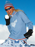 Dale of Norway Team Norge Feminine Sweater (Ice Blue)