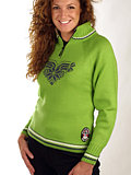 Dale of Norway Team Norge Feminine Sweater (Kiwi Green)