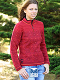 Dale of Norway Vail Sweater Women's (Raspberry)