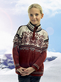 Dale of Norway Vail Sweater Kids' (Redrose)