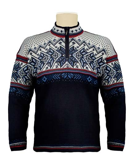 Dale of Norway Vail US Ski and Snowboard Team Sweater (Navy)