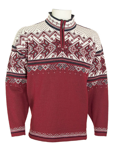 Dale of Norway Vail US Ski and Snowobard Team Sweater (Redrose)