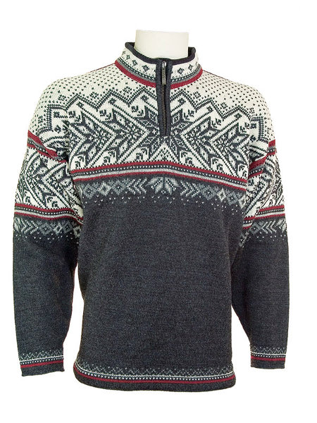 Dale of Norway Vail US Ski and Snowobard Team Sweater (Charcoal