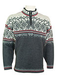 Dale of Norway Vail US Ski and Snowboard Team Sweater (Dark Charcoal / Smoke / Cream)
