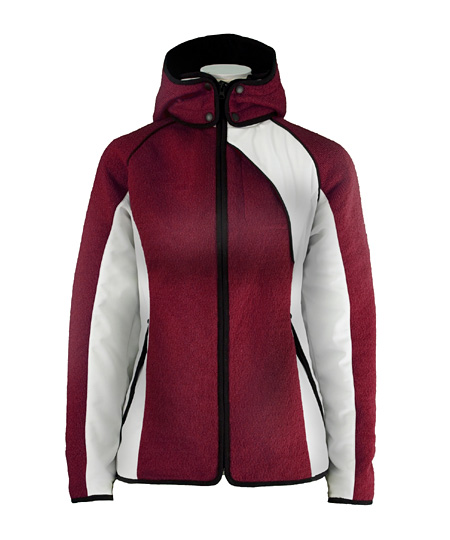 Dale of Norway Val Gardena Knitshell Jacket Women's (Vino / Tint