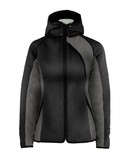 Dale of Norway Val Gardena Knitshell Jacket Women's (Black / Bla