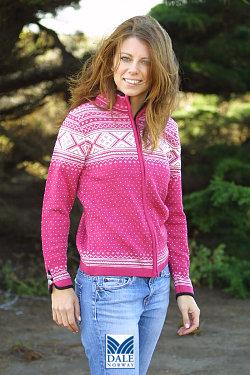 Dale of Norway Valle Sweater Women's (Allium / Off-white)