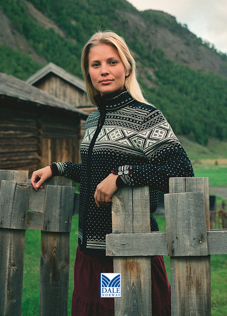 Dale of Norway Valle Sweater Women's (Black)