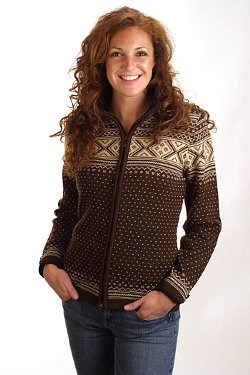 Dale of Norway Valle Sweater Women's (Mocca / Vanilla)