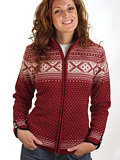 Dale of Norway Valle Sweater Women's (Redrose / Off-white)