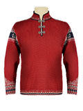 Dale of Norway Vinland Sweater Men's (Red Rose / Light Charcoal)