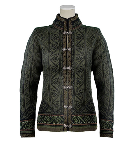 Dale of Norway Voss Jacket Women's (Fatigue Green / Black/ Pine