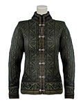 Dale of Norway Voss Jacket Women's (Fatigue Green / Black/ Pine )