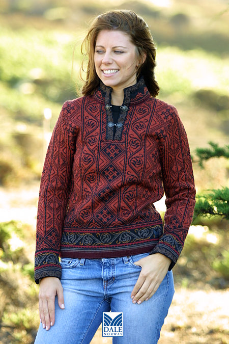 Dale of Norway Voss Sweater Women's (Port)