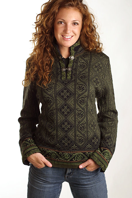 Dale of Norway Voss Sweater Women's (Green)