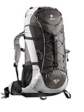 Deuter Aircontact Lite 45/10 SL Overnight Backpack Women's (Slate / Silver)