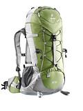 Deuter Aircontact Lite 50/10 Overnight Trekking Backpack (Bamboo / Silver)