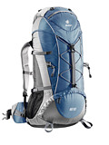 Deuter Aircontact Lite 65/10 Overnight Trekking Backpack (Steel / Titanium)