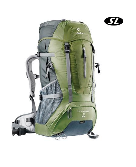 5c9b10b02cc91 Deuter Futura Pro 34 SL Light Hiking Backpack Women s (Pine   Ba