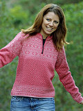Devold Amalie Sweater Women's (Winter Rose)