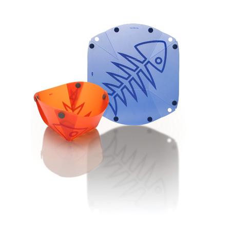 Fozzils Bowlz (New Blue / Orange)