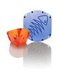 Fozzils Bowlz (New Blue / Orange)