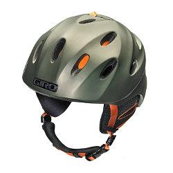 Giro Fuse Helmet (Matte Olive / Orange)