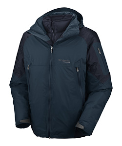 Columbia Glacier To Glade III Parka Men's (Deep Teal / Abyss)
