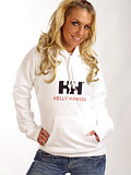 Helly Hansen Brand Hoodie Women's (White)