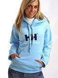 Helly Hansen Brand Hoodie Women's (Surf Spray)