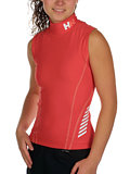 Helly Hansen Cannes Tank Rashguard Women's (Coral Red)