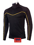 Helly Hansen LIFA DRY New Dynamic Half Zip Men's (Black / Gold)