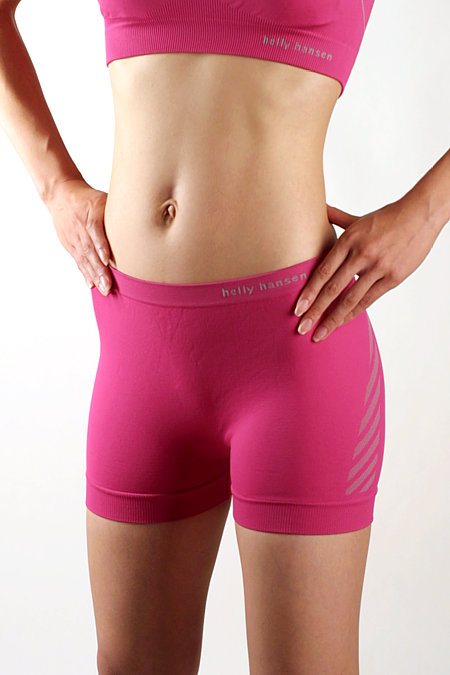 Helly Hansen LIFA DRY Seamless Boxers Women's (Hot Pink)
