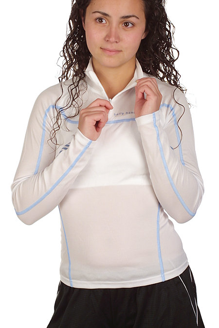 Helly Hansen LIFA DRY Dynamic Half Zip Women's (White / Bluejay)