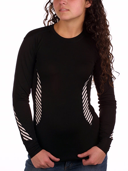 Helly Hansen LIFA DRY Long Sleeve Crew Women's (Black)