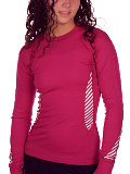 Helly Hansen LIFA DRY Long Sleeve Crew Women's (Hot Pink)